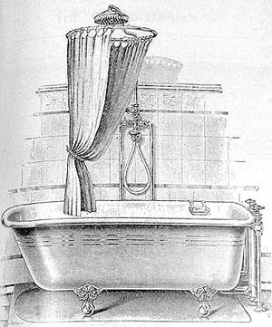 CLAWFOOT BATHTUB SHOWER CURTAINS Bathroom Design
